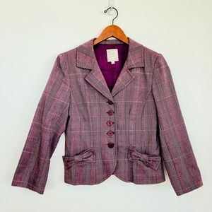 Nanette Lepore skirt suit gorgeous pattern and cut